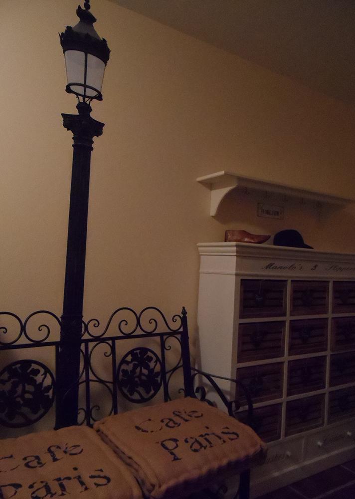 Treppe Garderobe UG